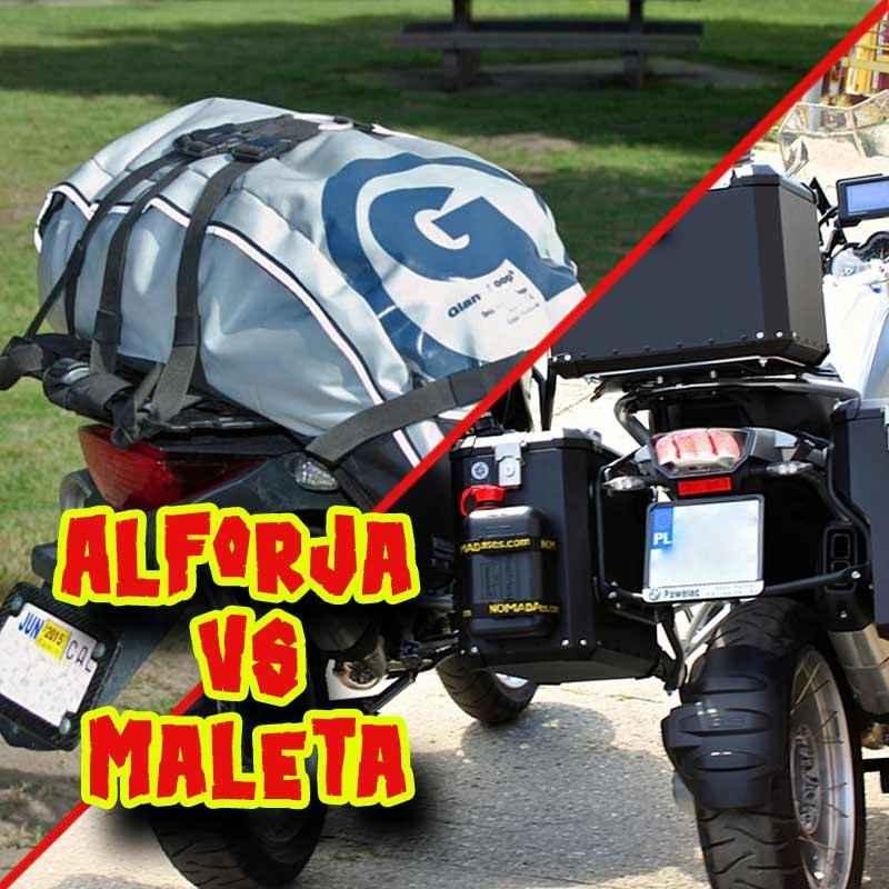 Alforjas vs Maletas de aluminio