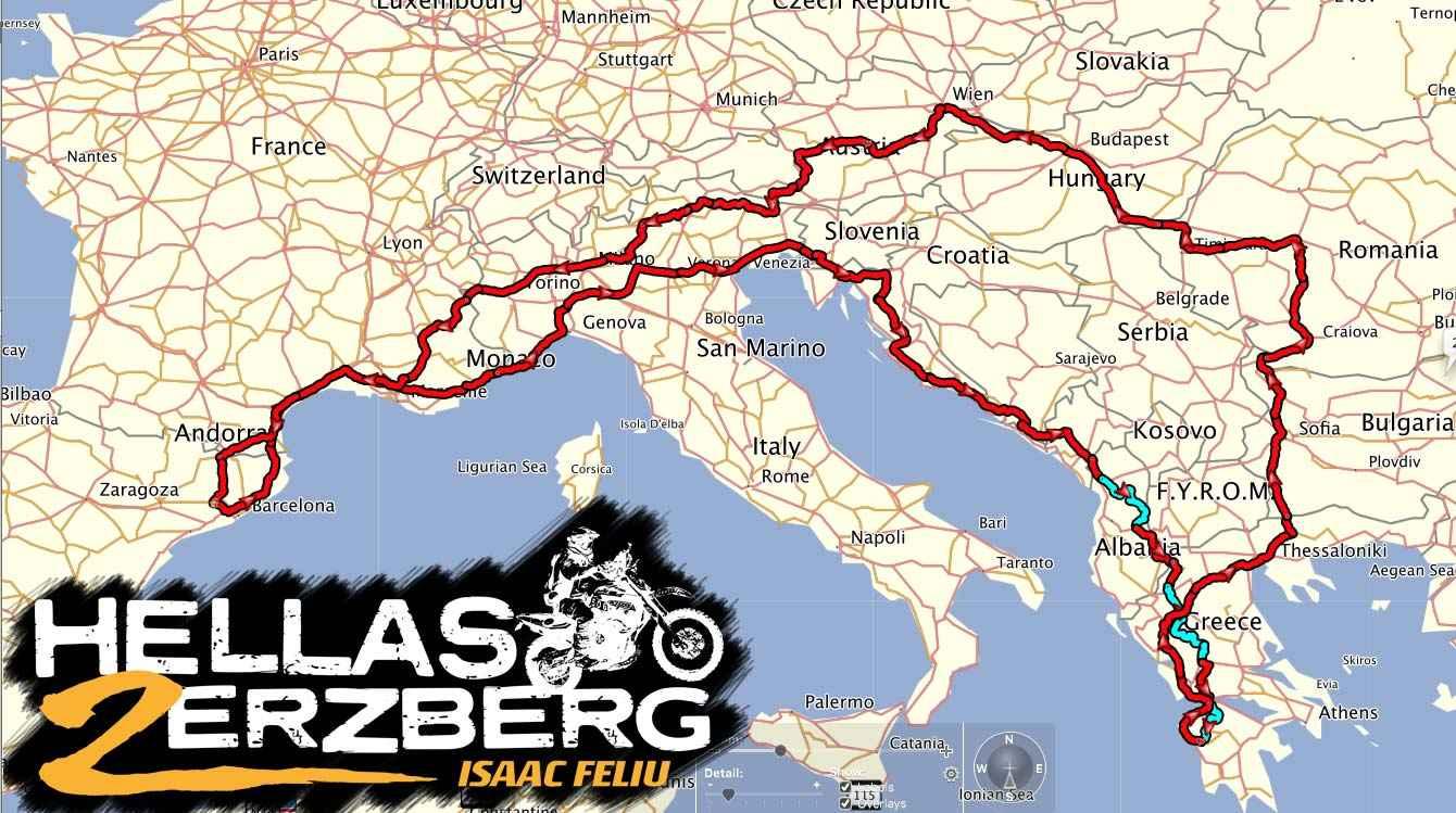 Proyecto Hellas2Erzberg, una aventura única
