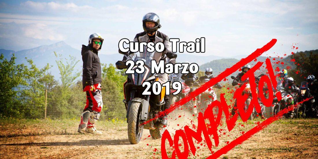 Curso de Iniciación al Trail - 23 Marzo 2019 - COMPLETO
