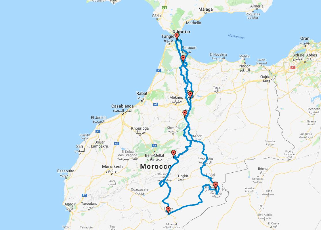 Viaje Marruecos Trail