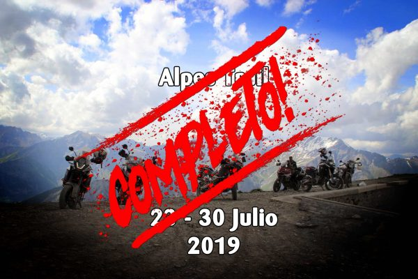 Alps Adventure Julio Final 2019 - Completo