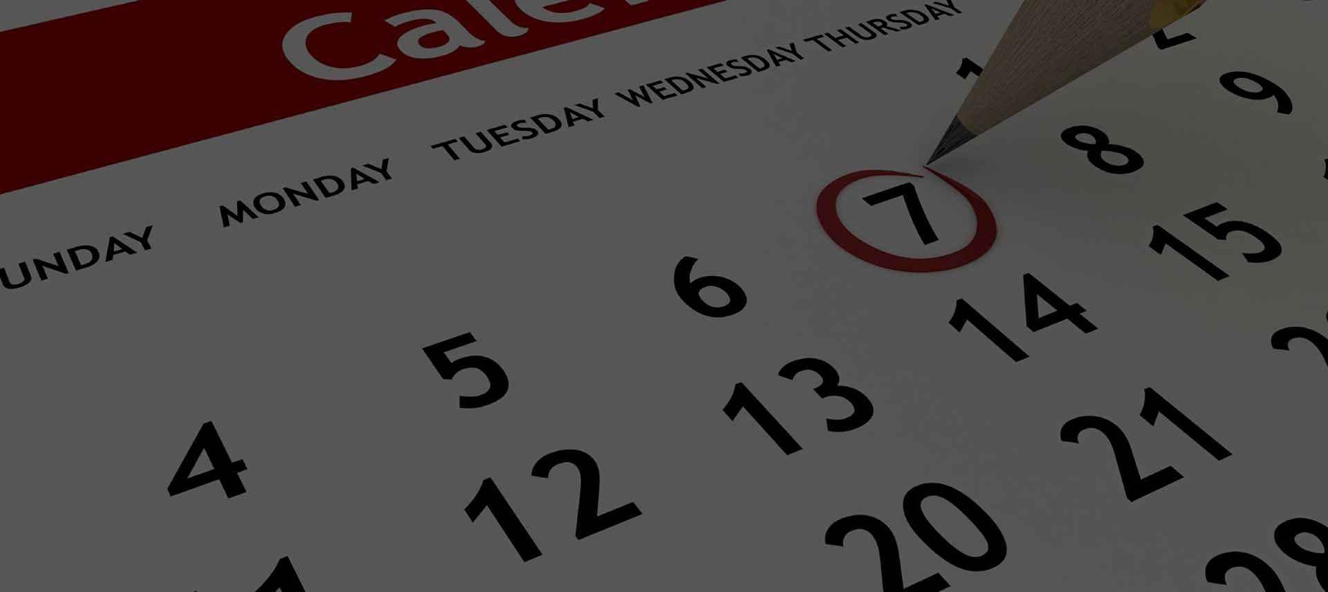 Calendario TwinTrail Experience