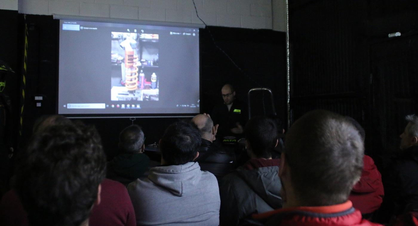 Éxito total del TwinTrail Workshop de suspensiones con MTA Suspensions