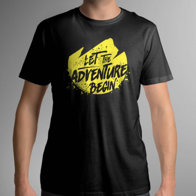 Camiseta TwinTrail Experience - Let The Adventure Begin
