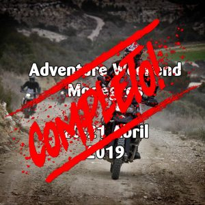 Adventure Weekend Abril 2019 - Monegros - COMPLETO -