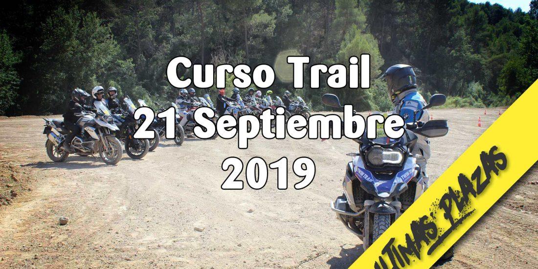 Curso de Iniciación al Trail - 21 Septiembre 2019