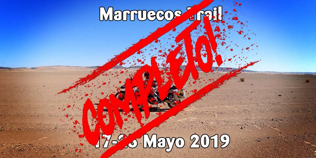 Morocco Adventure 17-25 Mayo 2019