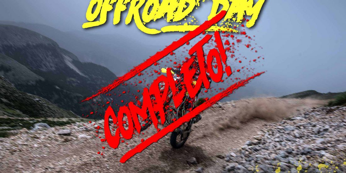 OffRoad Day 1 Mayo 2019 - COMPLETO -