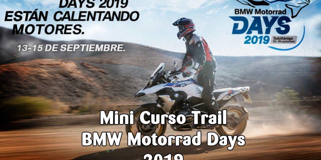 Mini-Curso Trail BMWRiders 2019