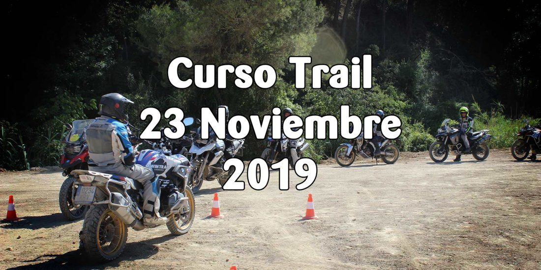 Curso de Iniciación al Trail - 23 Noviembre 2019