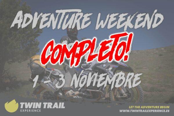 TwinTrail Adventure Weekend Bassegoda - Completo