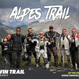 Viaje Alpes en moto trail