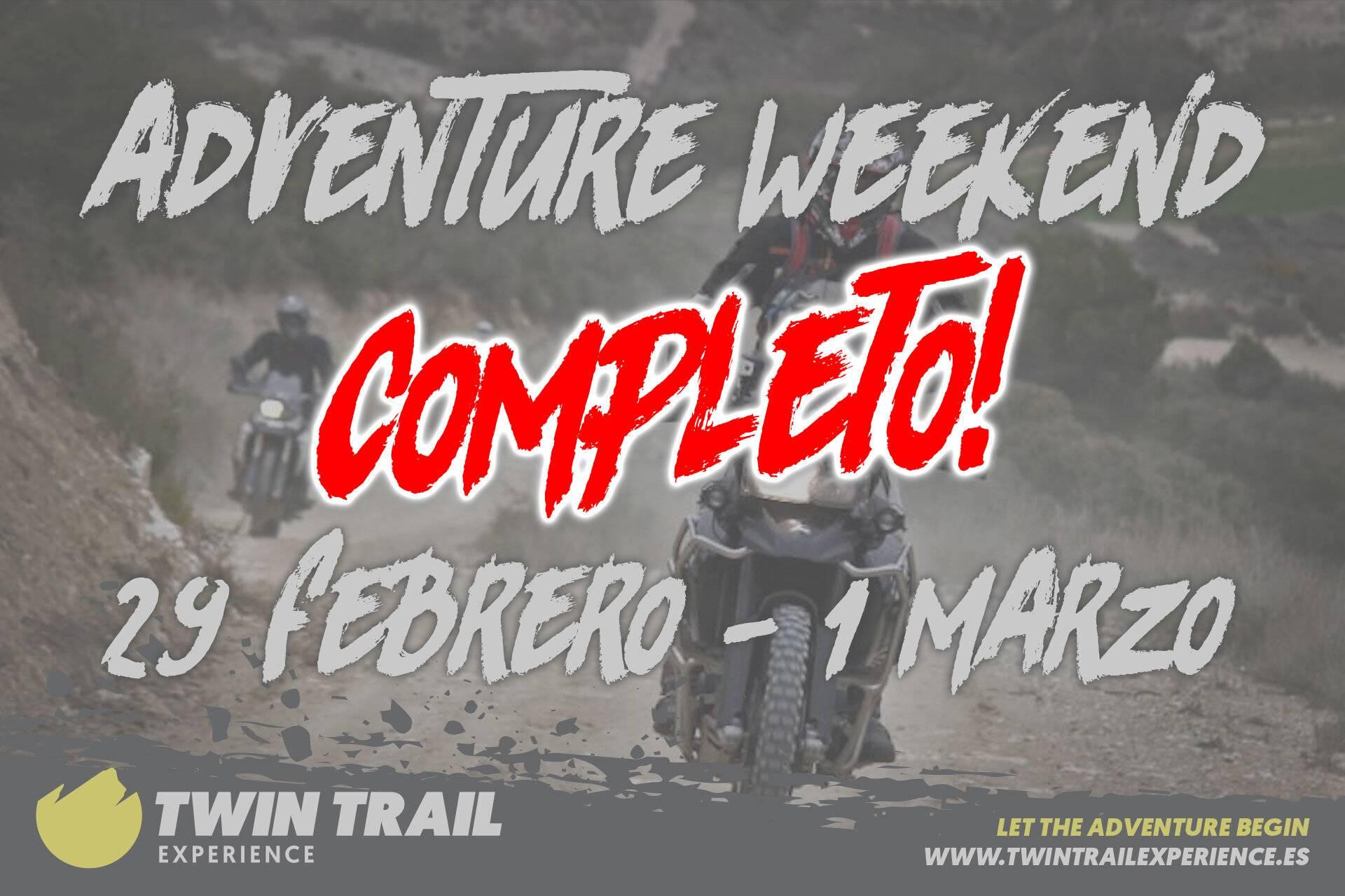 TwinTrail Adventure Weekend Monegros 2020