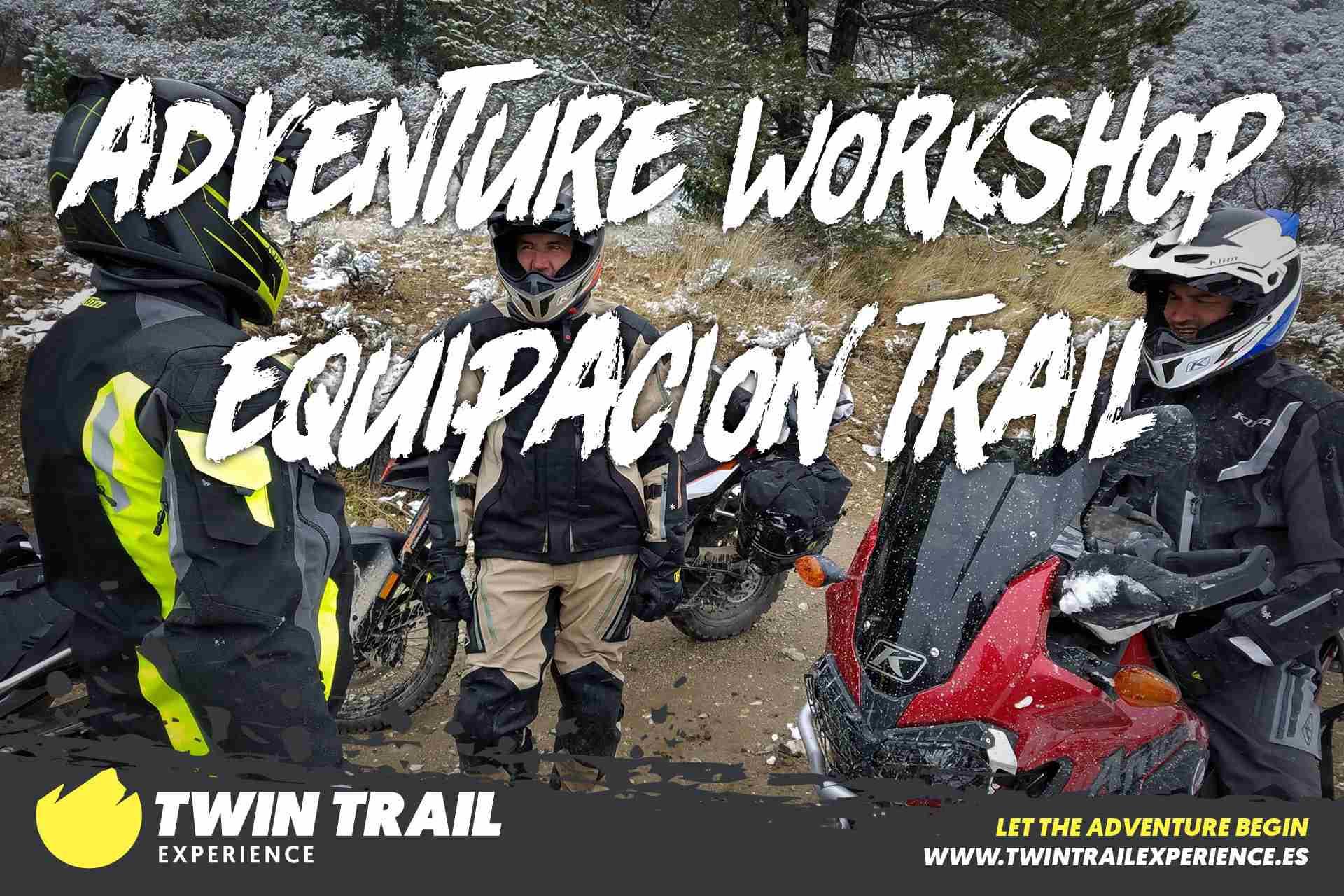Adventure Workshop: Equipación Trail