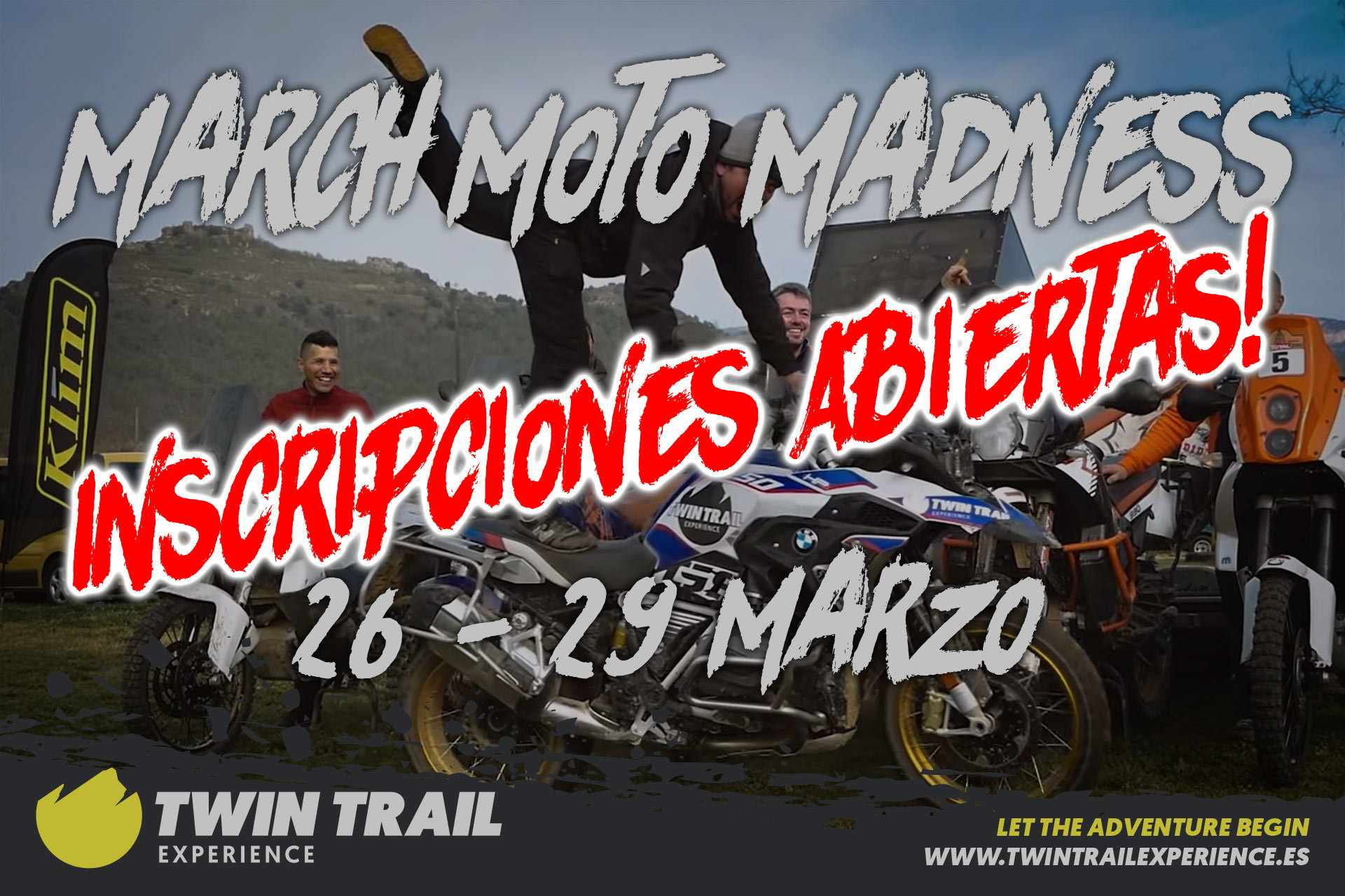 Inscripciones Abiertas March Moto Madness 2020