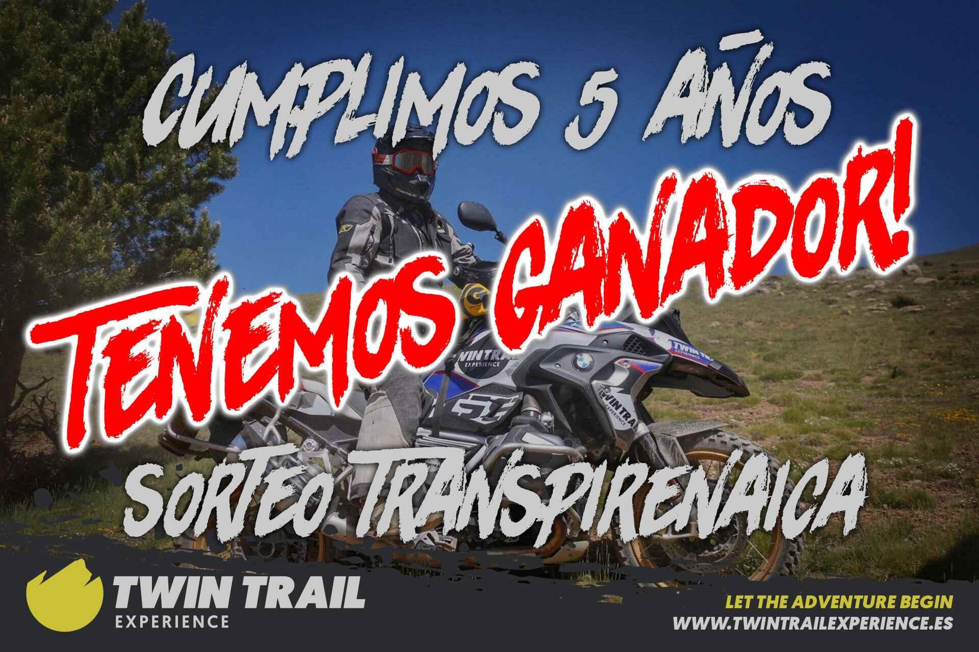 ¡Ya tenemos ganador de la plaza para la Transpirenaica Trail!