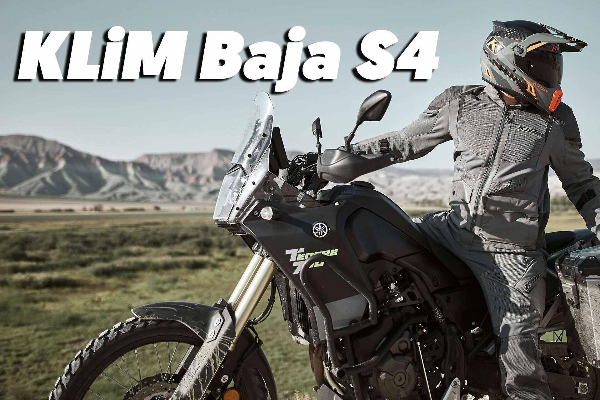 Nueva equipación Klim Baja S4